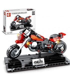 SEMBO 701100 Techinque Serie Harley Motors Bausteine-Spielzeug-Set