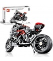 SEMBO 701703 Techinque Series Dueati Motorcycle Building Blocks Toy Set