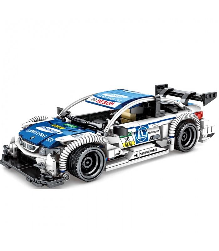 SEMBO 701711 Techinque Series N4DIM Racing Car Building Blocks Toy Set