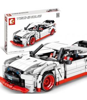 SEMBO 701712 Techinque Serie Nissan GTR Bausteine Spielzeugset