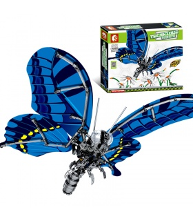 SEMBO 703601 Techinque Series Swallowtail butterfly Building Blocks Toy Set
