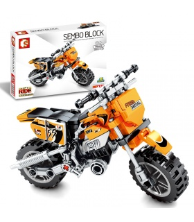 SEMBO 701106 Techinque Series Finger Motorcycle Building Blocks Toy Set