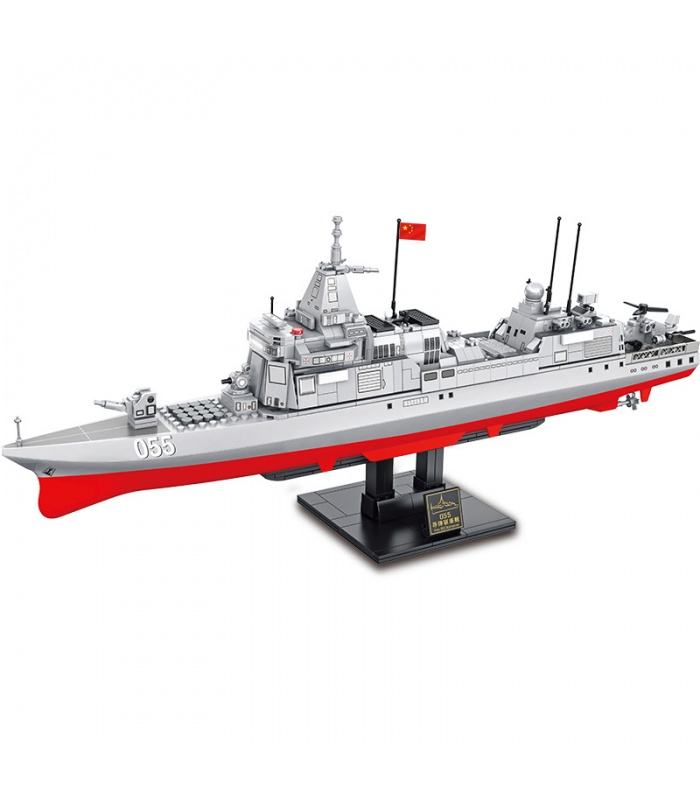 SEMBO 105767 Military Series 055 Destroyer Building Blocks Toy Set