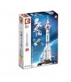 SEMBO 203304 China Aerospace Series CZ-2F Carrier Rocket Building Blocks Toy Set
