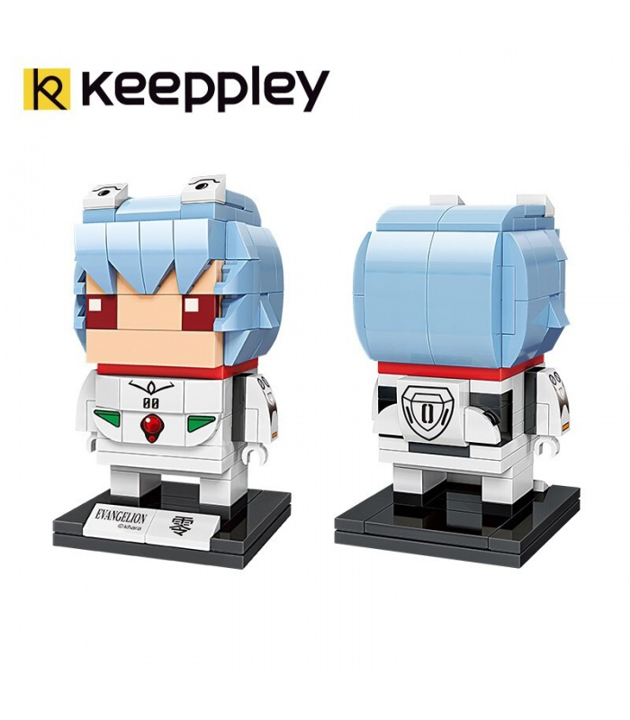 Keeppley Evangelion A0117 Pilot Rei Building Blocks Toy Set
