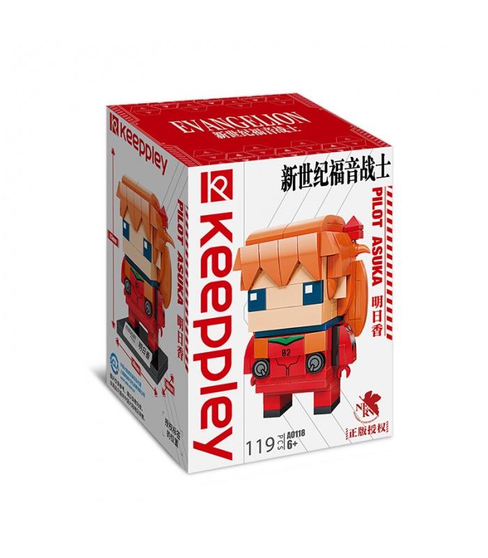 Keeppley Evangelion A0118 Pilot Asuka Building Blocks Toy Set