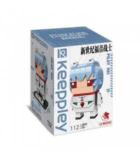 Keeppley Evangelion A0117 Pilot Rei Building Blocks Ensemble de jouets