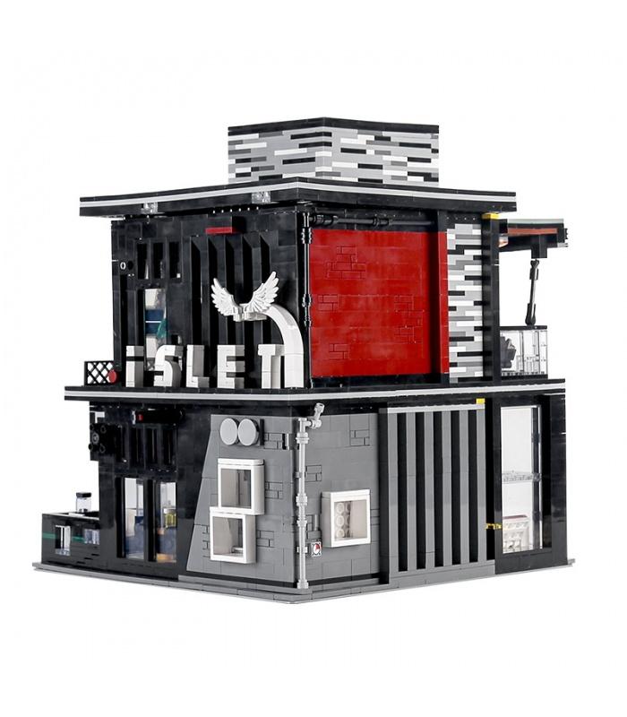 MOULD KING 16042 Pub and Restauran The Islet Bar Nova Town Building Blocks Toy Set