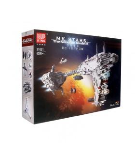 MOULD KING 21001 UCS Nebuton Model B Medical Frigate Star Wars Building Blocks Toy Set