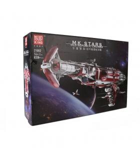 MOLD KING 21002 Old Republic Escort Cruiser Star Wars Bausteine Spielzeugset