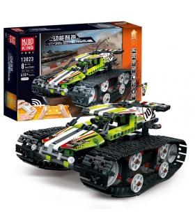 MOLD KING 13023 Crawler Car Green Building Blocks Игрушечный набор