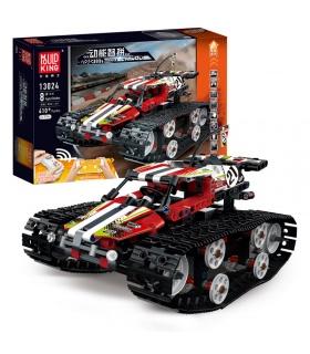 MOULD KING 13024 Crawler Car Red Building Blocks Toy Set