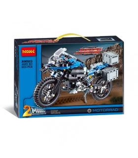 DECOOL 3369 R 1200 GS Adventure Motorcycle Building Bricks Toy Set