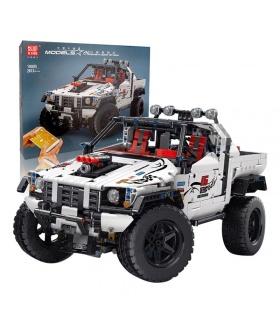 MOLD KING 18005 シルバー フラッグシップ オフロード トラック リモート コントロール ビルディング ブロック おもちゃセット