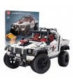 MOULD KING 18005 Silver Flagship Off-Road Truck Remote Control Building Blocks Toy Set