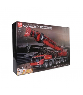 MOULD KING 17013 Grove Mobile Crane GMK Remote Control Building Blocks Toy Set