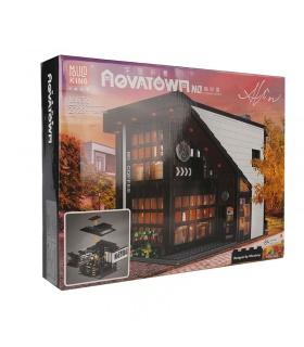 MOLD KING 16036 Ensemble de jouets de blocs de construction modulaires pour café moderne