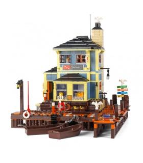 PANGU PG12001 Diving Club Building Bricks Toy Set