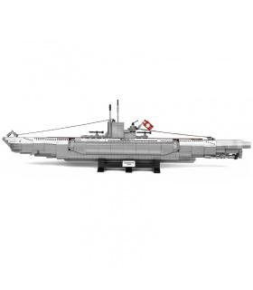 PANGU PG15001 Deutsches U48 U-Boot-Baustein-Spielzeug-Set