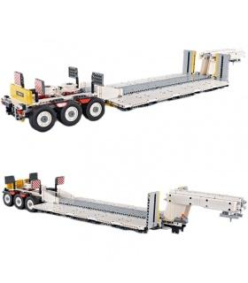 XINYU YC-GC006 Stufendeck-Anhänger Transport Flache Bausteine-Spielzeug-Set