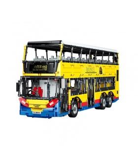 XINYU YC-QC015 Doppeldecker-Bus-Bausteine-Spielzeug-Set