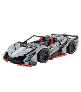 XINYU XQ1003D Lamborghini Poison Sports Car Remote Control Building Bricks Toy Set
