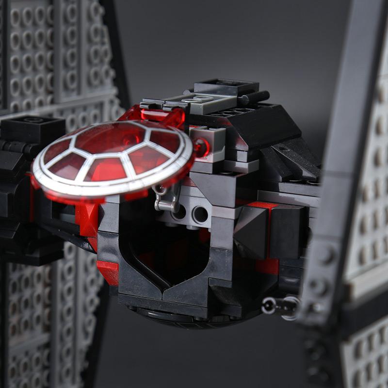 CUSTOM 05005 First Order Special Forces TIE Fighter Building Bricks Set