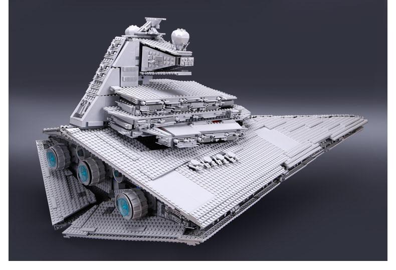 CUSTOM 05027 Building Blocks Toys Imperial Star Destroyer Building Brick Sets