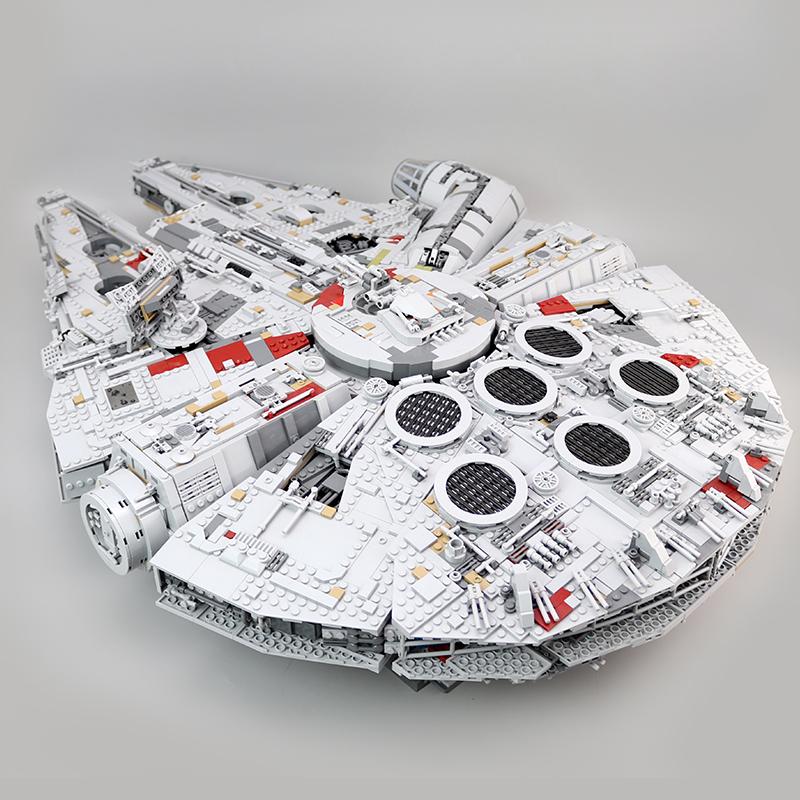 CUSTOM 05132 Building Blocks  Star Wars Millennium Falcon Building Brick Sets