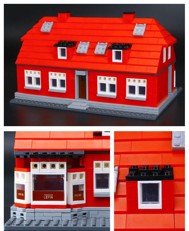 CUSTOM 17006 Building Blocks Toys Ole Kirk'S House Building Brick Sets
