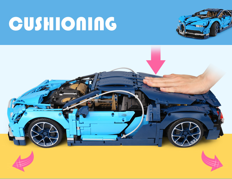 CUSTOM 20086 Technic Bugatti Chiron Building Toys Compatible Building Blocks