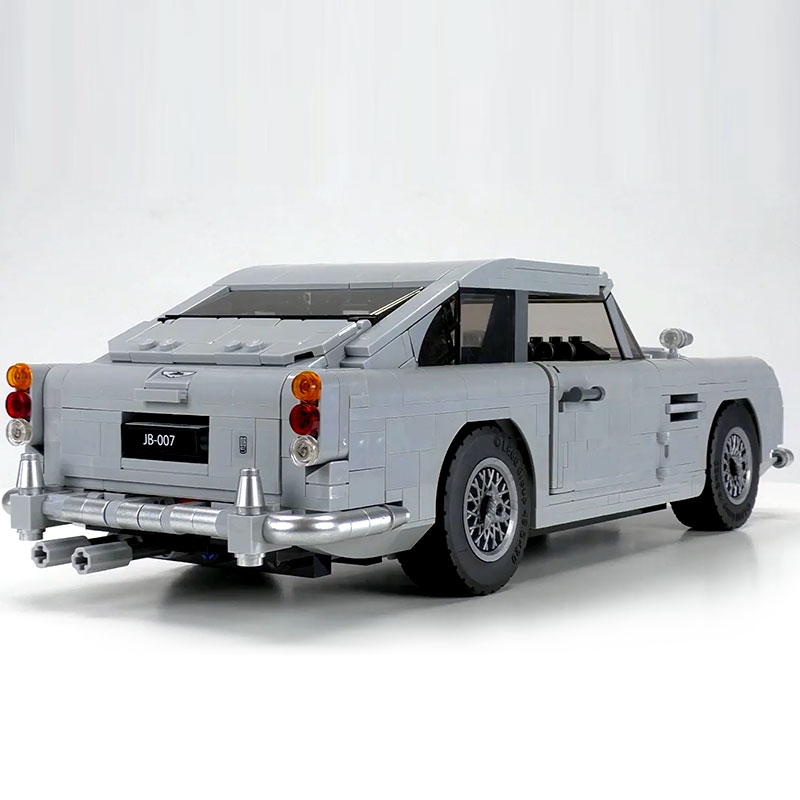 CUSTOM 21046 James Bond Aston Martin DB5 Building Bricks Set