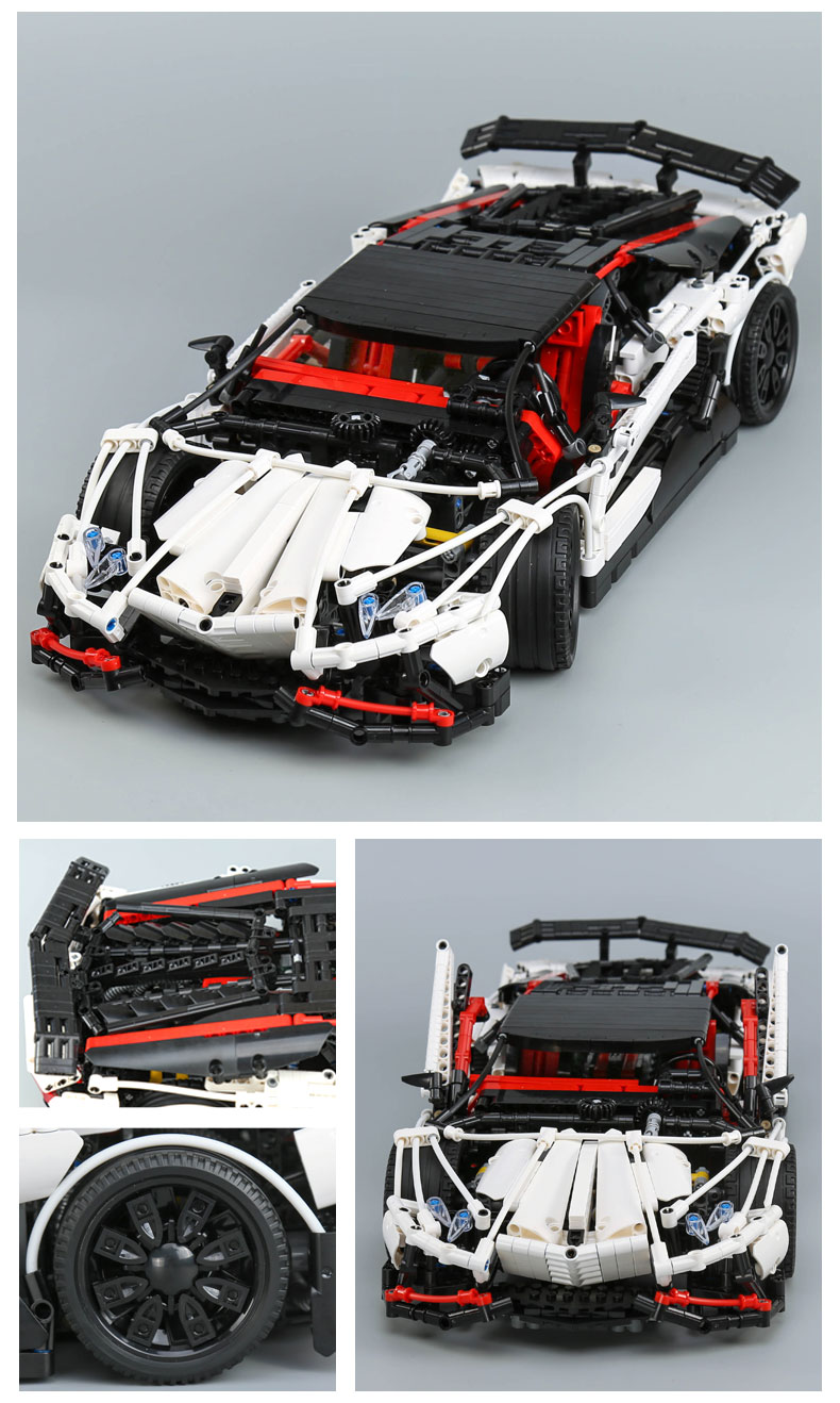 CUSTOM 23006 MOC Lamborghini Aventador LP 720-4 Building Toys Compatible Building Blocks