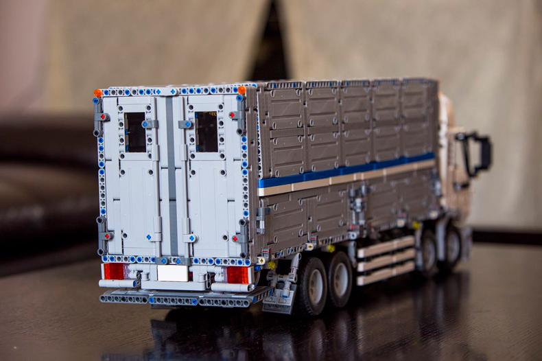 BENUTZERDEFINIERTE 23008 Bausteine Spielzeug MOC Technic Wing Body Truck Bausteine