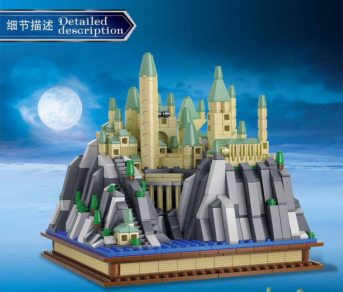 MORK 031006 Creative Series Castle Villa Model Building Bricks Toy Set