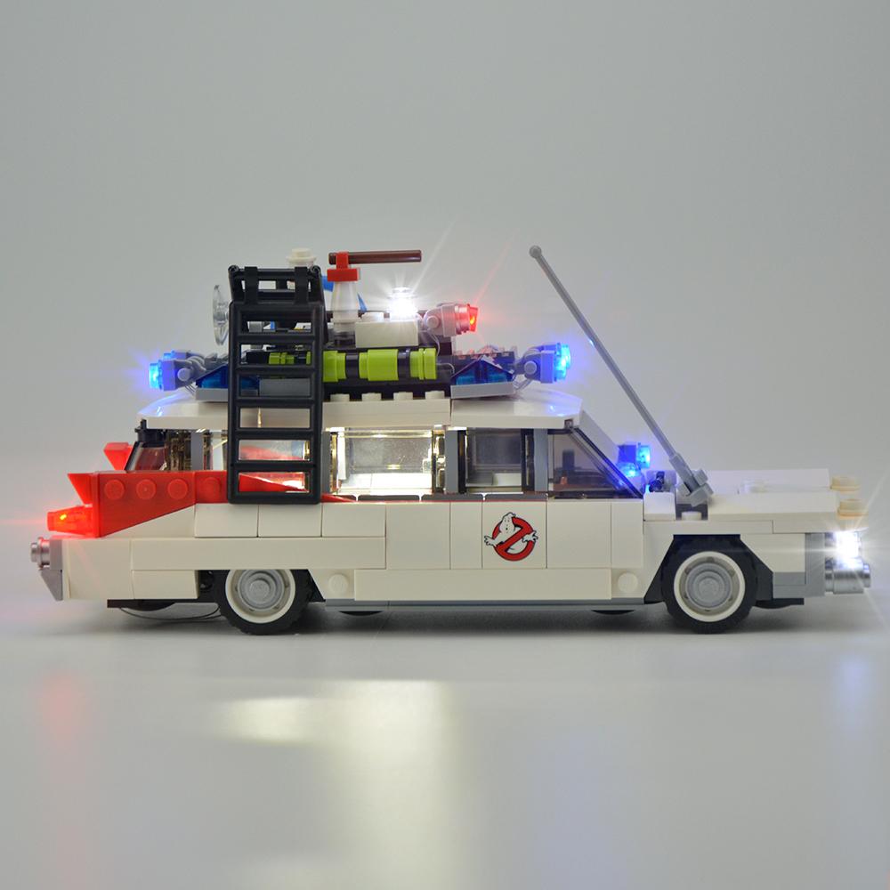Light Kit For Ghostbusters Ecto-1 LED Lighting Set 21108