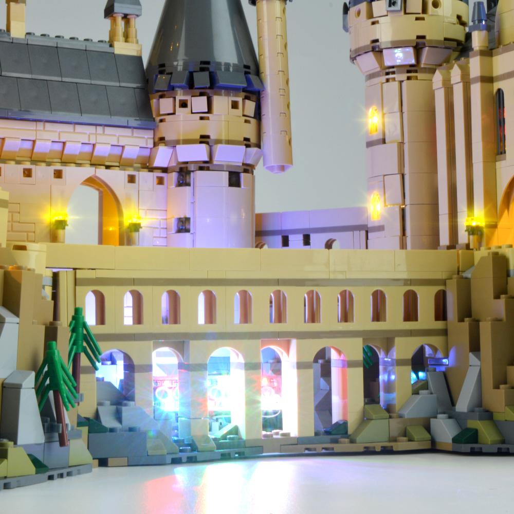 Light Kit For Harry Potter Hogwarts Castle LED Lighting Set 71043
