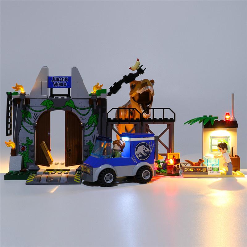 Light Kit For T. rex Breakout LED Highting Set 10758