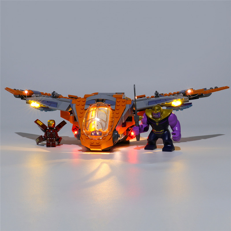 Light Kit For Thanos Ultimate Battle LED Highting Set 76107