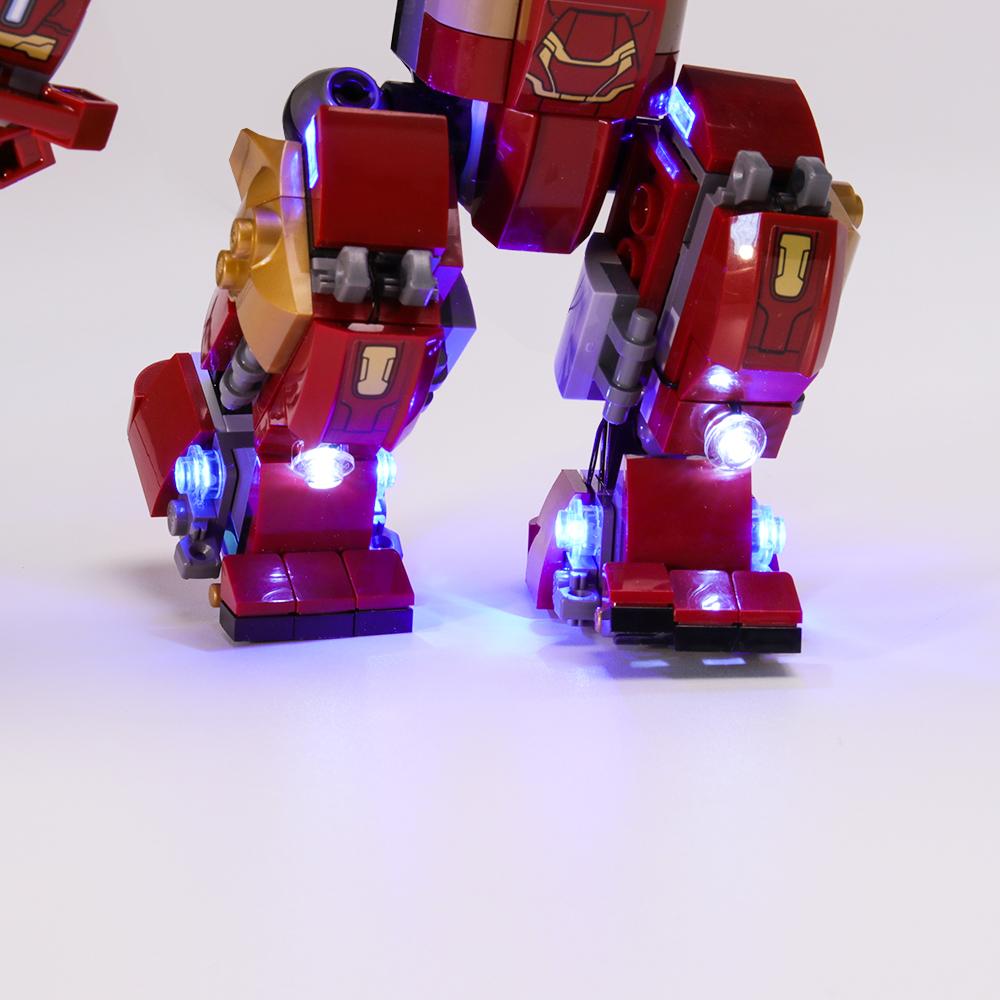 Light Kit For The Hulkbuster Smash-Up LED Highting Set 76104