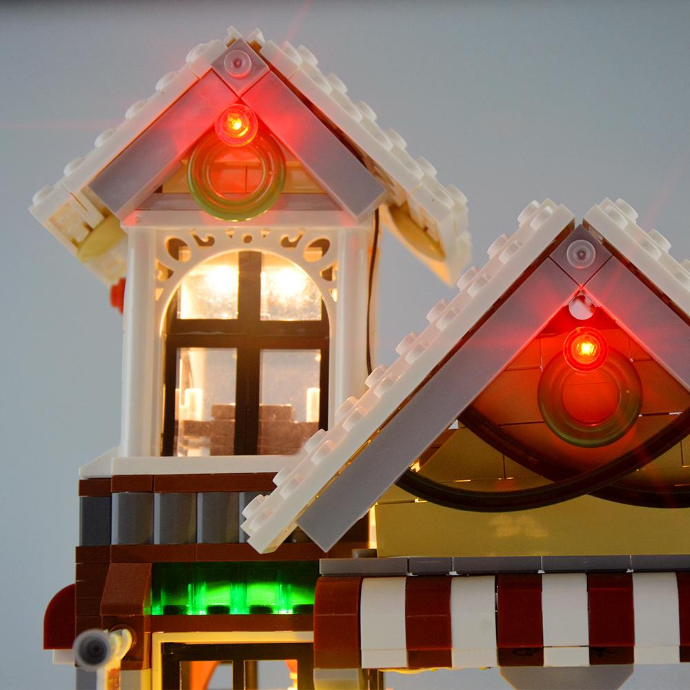 Light Kit For Winter Toy Shop LED Lighting Set 10249