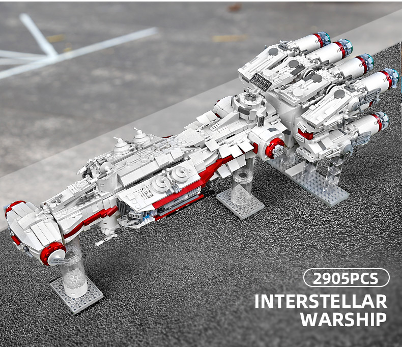 MOULD KING 21003 Tantive IV CR90 Corellian Corvette Building Blocks Toy Set