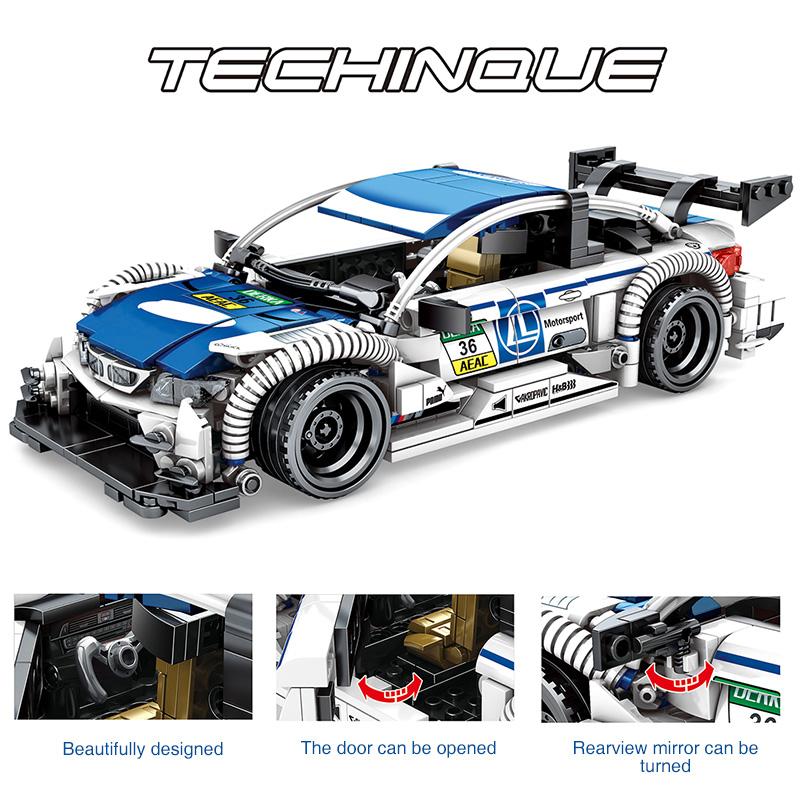 SEMBO 701711 Techinque Series BWM N4DIM Building Blocks Toy Set