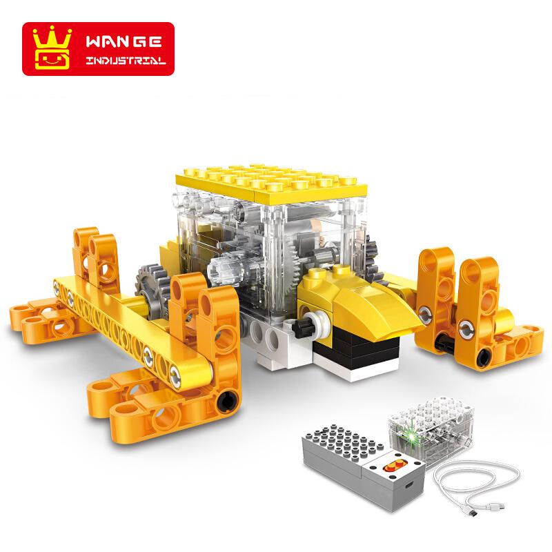 WANGE Robotic Animal Animal Electromechanical Set 6 1201-1206 Building Blocks Toy Set