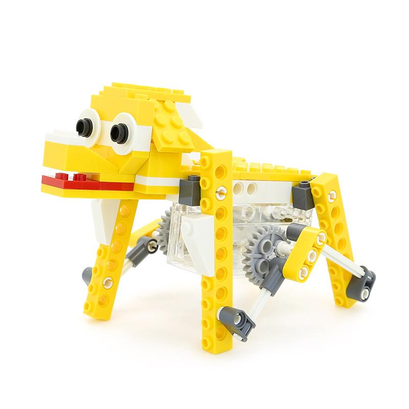 WANGE Robotic Animal Electromechanical Puppy 1201 Building Blocks Toy Set