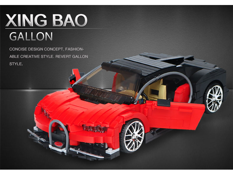 XINGBAO 03009 Gallon Building Bricks Set