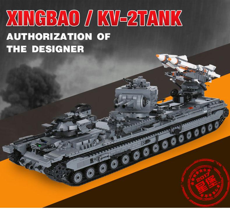 XINGBAO 06006 Kv-2tank Building Bricks Set
