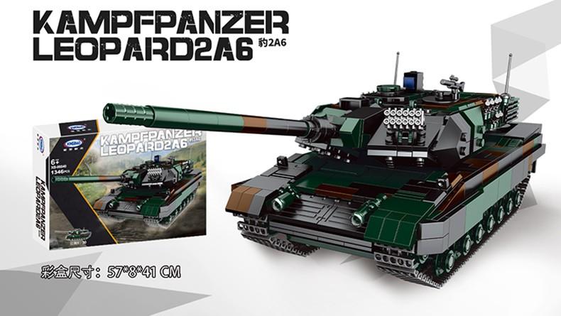 XINGBAO 06040 Kampfpanzer Leopard2a6 Tank Building Bricks Toy Set