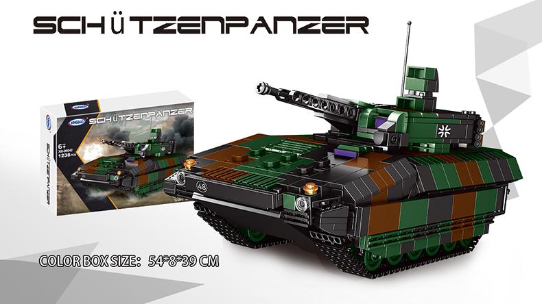 XINGBAO 06042 Infantry Fighting Vehicle Tank Building Bricks Toy Set