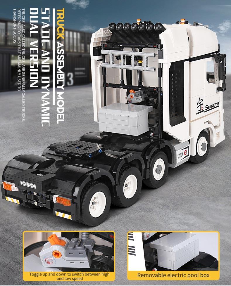 Xinyu QC007 Flagship Kylesrs Tractor Building Bricks Toy Set